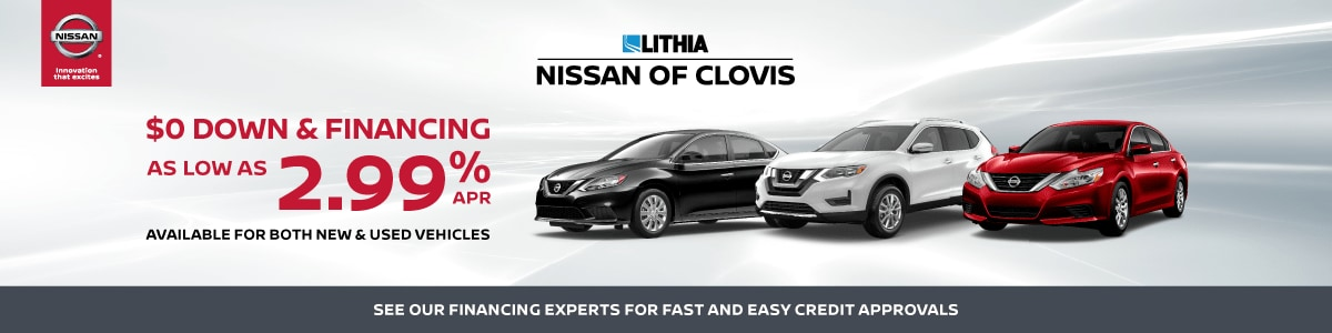 Nissan Of Clovis >> Nissan Car Loans Leases Auto Financing At Nissan Of Clovis