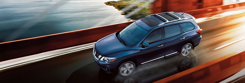 Nissan Pathfinder Exterior Vehicle Features