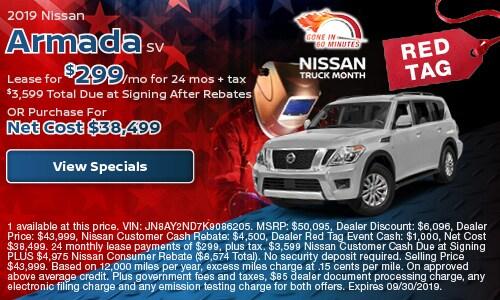 New 2019 Nissan Armada