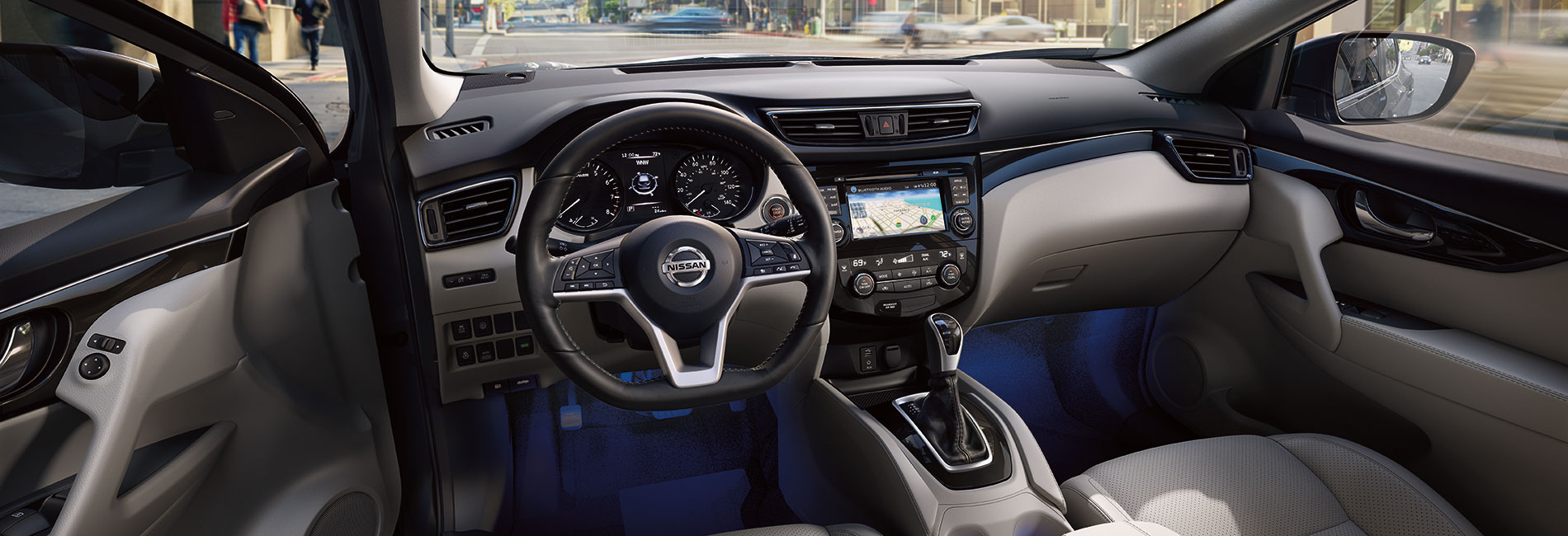 Nissan Rogue Interior Vehicle Features