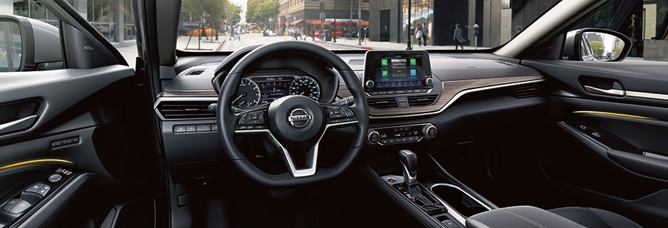 Nissan Altima Interior Vehicle Features