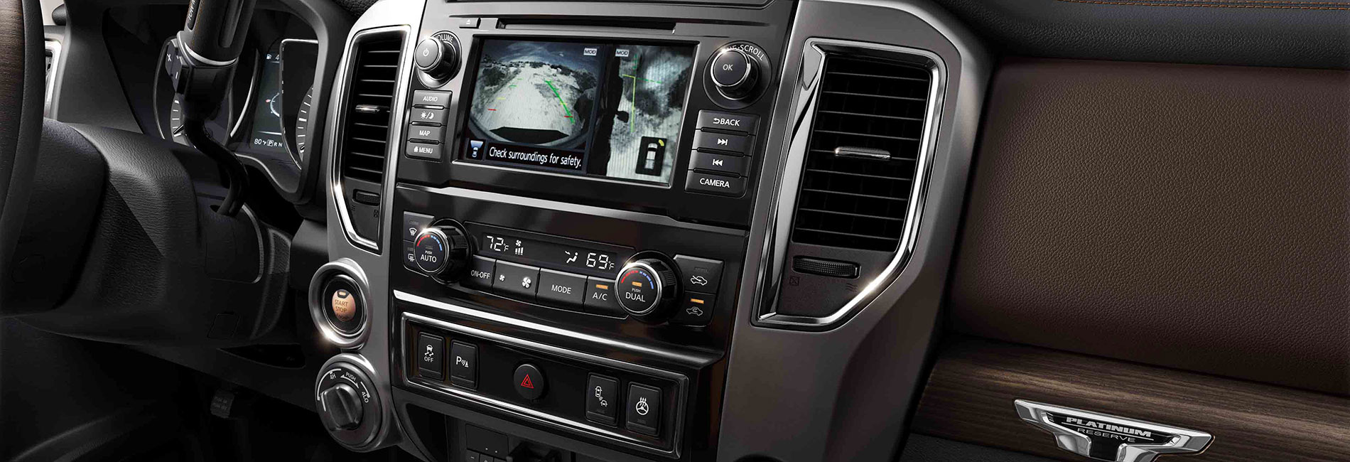Nissan Titan Interior Vehicle Features