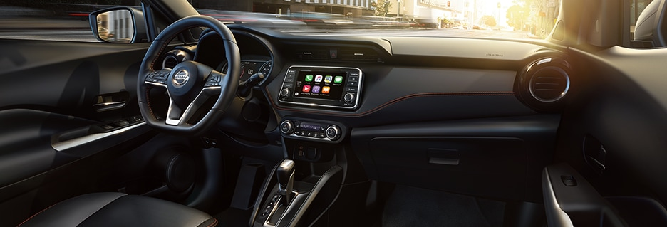 Nissan Kicks Interior Vehicle Features