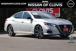 New 2021 Nissan Altima 2.5 SR Sedan Clovis, CA