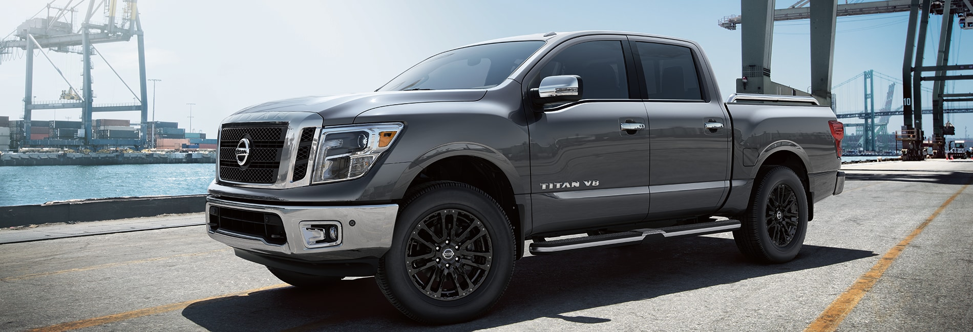 Nissan Titan Exterior Vehicle Features
