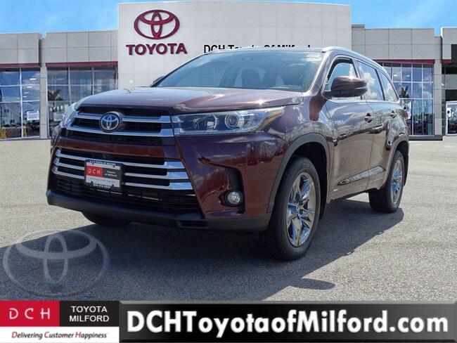 New 2018 Toyota Highlander Hybrid Limited Platinum V6 SUV
