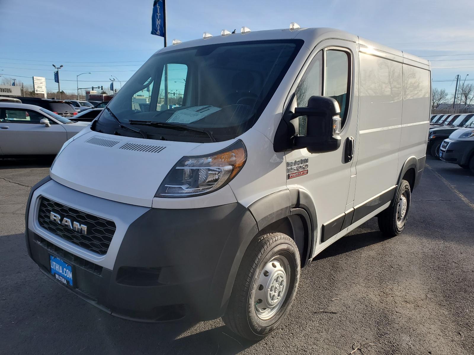 New 2021 Ram Promaster Cargo Van 1500 Cargo Van Low Roof 118 Wb Bright White For Sale Medford Or Lithia Motors Stock Me515940
