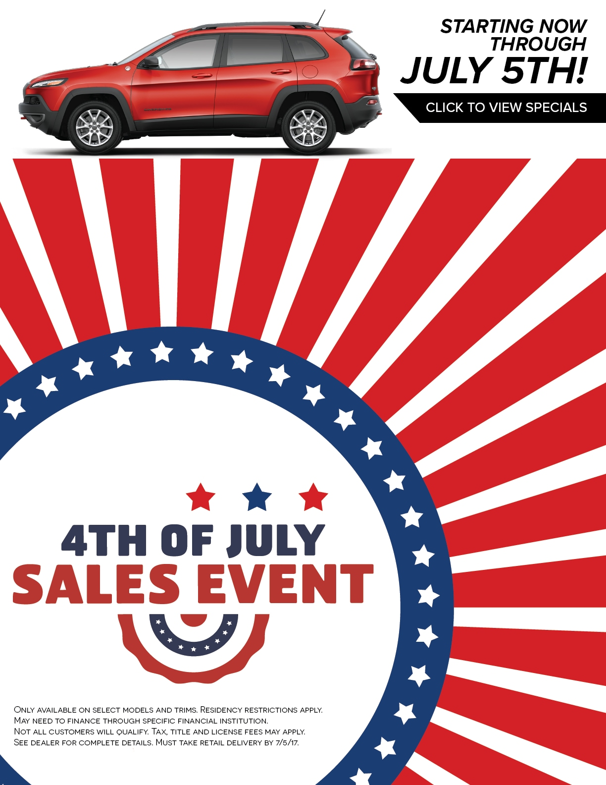 8134d2cb1194 4th of July Sales Event | Lithia Chrysler Jeep Dodge of Billings