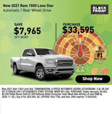 New 2021 Ram 1500 Lone Star