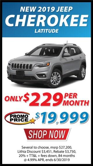 New 2019 Jeep Cherokee