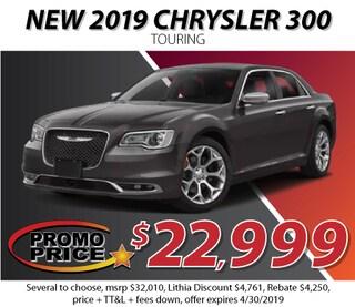 New 2019 Chrysler 300