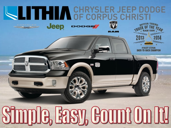 About Lithia Chrysler Jeep Dodge Of Corpus Christi New