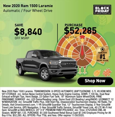 New 2020 Ram 1500 Laramie