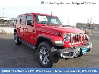 New 2021 Jeep Wrangler UNLIMITED SAHARA 4X4 Sport Utility Kennewick, WA