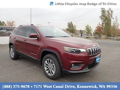 2021 Jeep Cherokee LATITUDE PLUS 4X4 Sport Utility Kennewick, WA