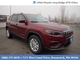 New 2021 Jeep Cherokee LATITUDE 4X4 Sport Utility Kennewick, WA