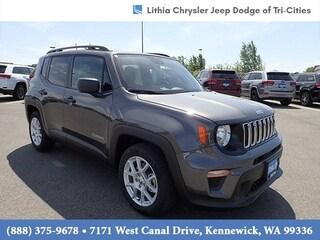 New 2020 Jeep Renegade SPORT FWD Sport Utility Kennewick, WA