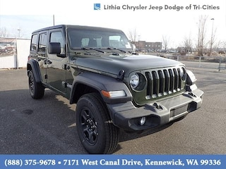 New 2021 Jeep Wrangler UNLIMITED SPORT 4X4 Sport Utility Kennewick, WA