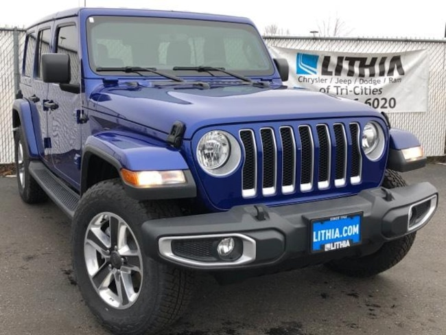New 2018 Jeep Wrangler UNLIMITED SAHARA 4X4 Sport Utility Kennewick, WA