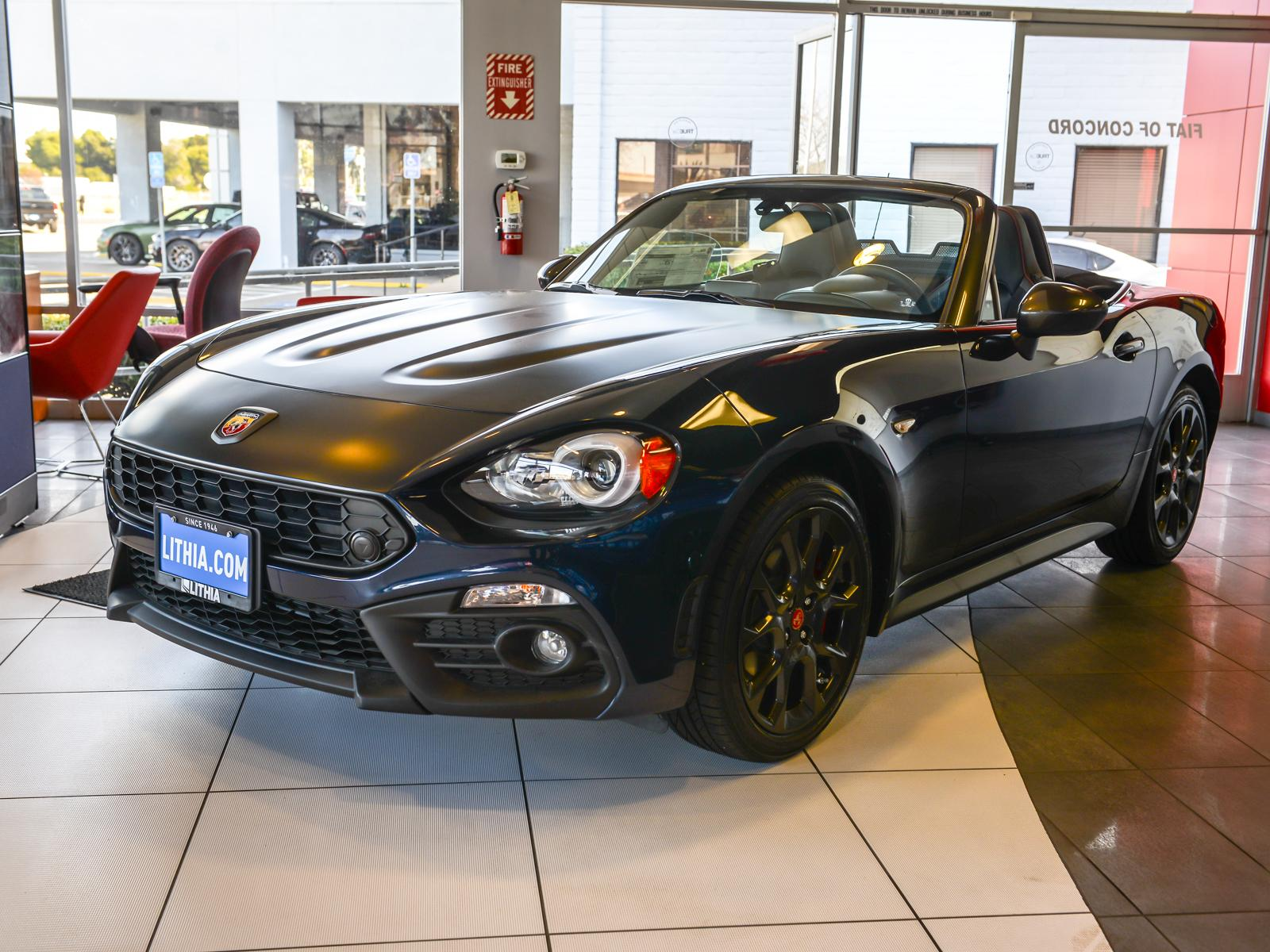 New 2019 FIAT 124 Spider ABARTH Convertible Concord, CA