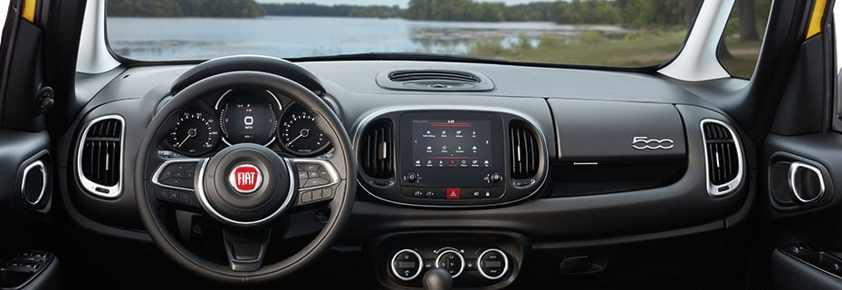 Fiat Interior and Exterior Vehicle Features