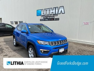 New 2021 Jeep Compass LATITUDE 4X4 Sport Utility Grand Forks, ND