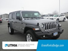 2019 Jeep Wrangler UNLIMITED SPORT S 4X4 Sport Utility Grand Forks, ND