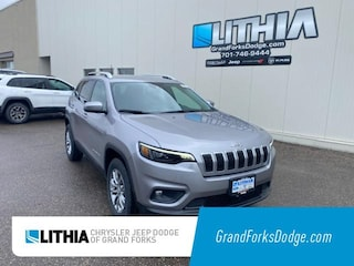 New 2021 Jeep Cherokee LATITUDE LUX 4X4 Sport Utility Grand Forks, ND