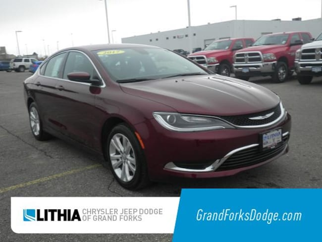 Used 2017 Chrysler 200 Limited Sedan Grand Forks, ND
