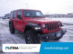 New 2018 Jeep Wrangler UNLIMITED RUBICON 4X4 Sport Utility For Sale in Grand Forks, ND