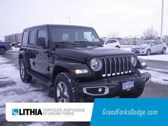 2018 Jeep Wrangler UNLIMITED SAHARA 4X4 Sport Utility Grand Forks, ND