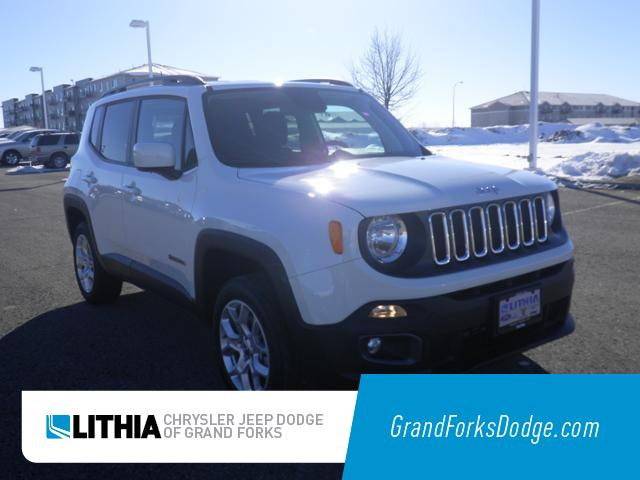 Used 2018 Jeep Renegade Latitude 4x4 SUV Grand Forks, ND
