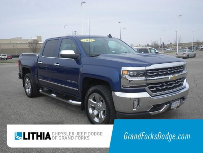 Used 2017 Chevrolet Silverado 1500 LTZ Truck Crew Cab Grand Forks, ND