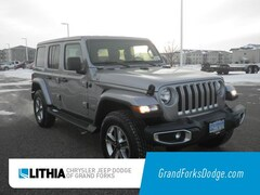 New 2019 Jeep Wrangler UNLIMITED SAHARA 4X4 Sport Utility For Sale in Grand Forks, ND