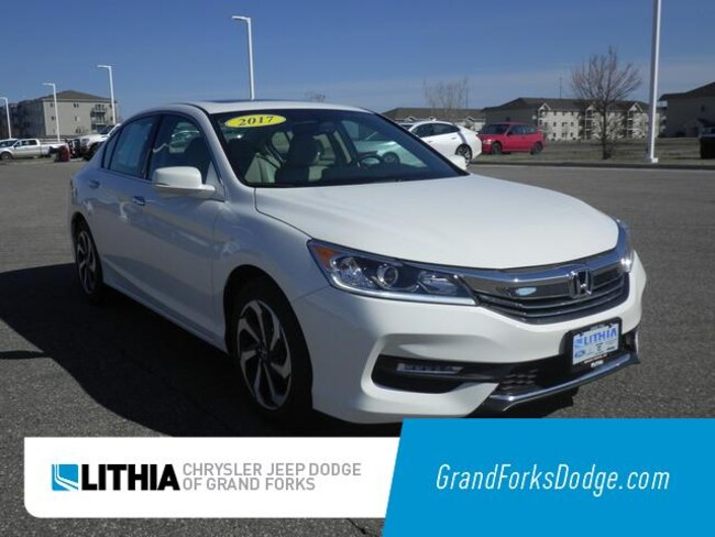 Used 2017 Honda Accord EX-L V6 Sedan Grand Forks, ND
