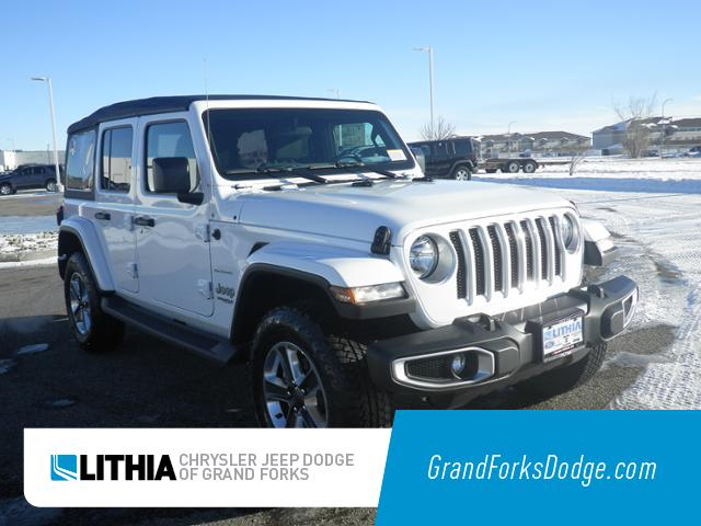 New 2019 Jeep Wrangler UNLIMITED SAHARA 4X4 Sport Utility Grand Forks, ND
