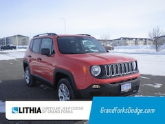 New 2018 Jeep Renegade SPORT 4X4 Sport Utility For Sale in Grand Forks, ND