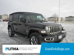 New 2018 Jeep Wrangler UNLIMITED SAHARA 4X4 Sport Utility For Sale in Grand Forks, ND