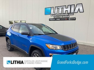 New 2021 Jeep Compass TRAILHAWK 4X4 Sport Utility Grand Forks, ND