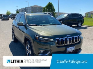 New 2020 Jeep Cherokee LIMITED 4X4 Sport Utility Grand Forks, ND