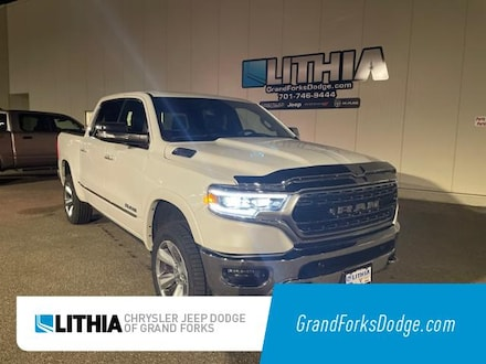 Used 2019 Ram All-New 1500 Limited Truck Crew Cab Grand Forks, ND