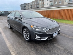 New 2020 Ford Fusion Titanium Sedan For Sale in Grand Forks, ND