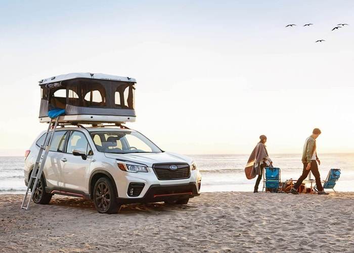 Shop for a new 2021 Subaru Forester Crossover SUV at Lithia