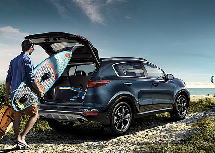 Shop for a new 2021 Kia Sportage Crossover SUV at Lithia