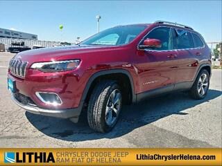New 2019 Jeep Cherokee LIMITED 4X4 Sport Utility Helena, MT