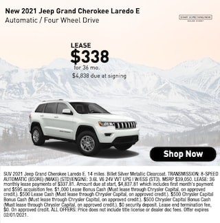 New 2021 Jeep Grand Cherokee Laredo E