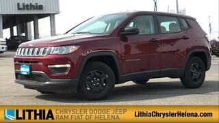 New 2020 Jeep Compass SPORT FWD Sport Utility Helena, MT