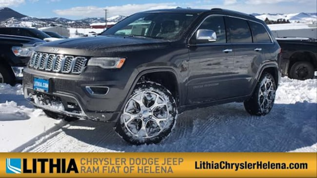 New 2019 Jeep Grand Cherokee OVERLAND 4X4 Sport Utility Helena, MT