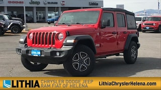 New 2021 Jeep Wrangler UNLIMITED SPORT S 4X4 Sport Utility Helena, MT