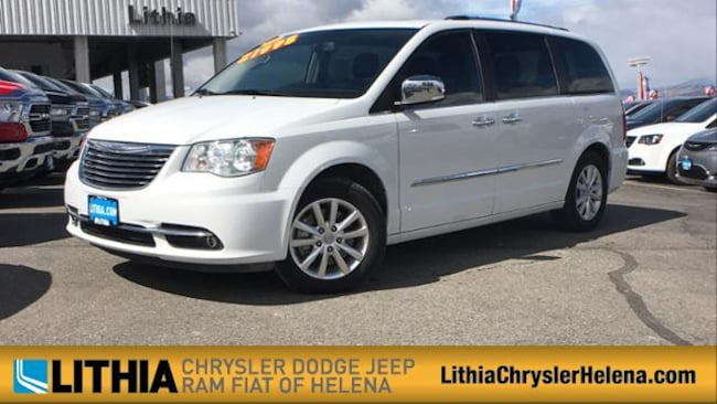 Used 2015 Chrysler Town & Country Limited Platinum Van Helena, MT